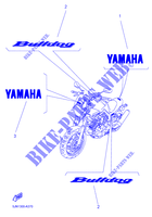 STICKER per Yamaha BT1100 2006