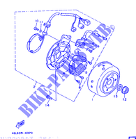 ACCENSIONE per Yamaha DT125RE 1998